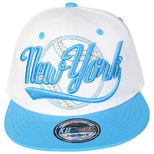 UNISEX STATE PROPERTY  SNAP BACK CAP HAT NEW YORK DESIGNS AND COLOURS RETRO