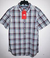 Mens The North Face Vintage Plaid Hammets Shirt Button Up Lifestyle New Size M
