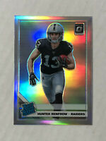 HUNTER RENFROW 2019 Donruss Optic SILVER SP RC REFRACTOR #190! RAIDERS HUGE SALE