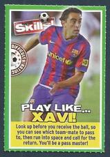 MOTD MAGAZINE-SUPER SKILLS-BARCELONA & SPAIN-XAVI