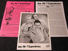 THE MR. T EXPERIENCE 'REVENGE IS SWEET…' 1997 PRESS KIT--PHOTO