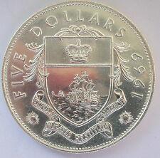 Bahamas 1969 Queen 5 Dollars 1.25oz Silver Coin