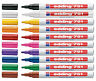 Edding 751 Paint Marker Pens, Fine 1-2mm Bullet Tip, All Colours, Box 10