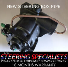 Land Rover Defender 200,300 TDi, TD5, TDCi 4 Bolt Power Steering Box Bypass Pipe