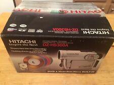 Hitachi Dzhs300A Dvd Hybrid Camcorder with 25x Optical Zoom & 8Gb Hard Disc Driv
