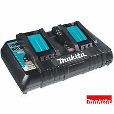 Makita DC18RD 18v Li-Ion Twin Port Rapid Battery Charger 240v + USB Charger