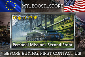World Of Tanks (WOT) PERSONAL MISSIONS CHIMERA and Obj.279E | NOT BONUS CODE |PC