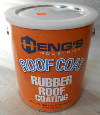 HENG'S  RUBBER ROOF COATING GALLON  HENGS
