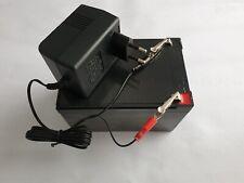 Ladegerät Akku Set 12V Kinderauto mit Ersatzakku Batterie 12V 10 Ah Elektroauto