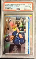 2019 TOPPS CHROME FERNANDO TATIS JR. VARIATION REFRACTOR RC 410 *PSA 10 GEM MINT