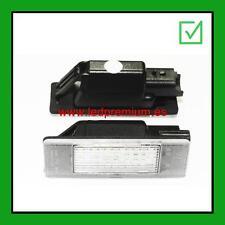 ledpremium 2x LED NUMBER PLATE LIGHTS PEUGEOT 406 4D 2D COUPE CANBUS