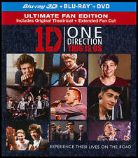 One Direction: This Is Us (Blu-ray/DVD, 3D , 2013, 3-Disc Set)