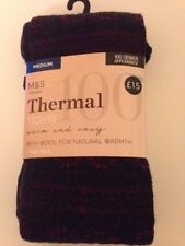 Polyamide Supportless Women's Winter Warmers Tights