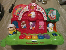 Vtech DISCOVERY Nursery FARM ANIMALS,PIANO,MUSIC,TALKING CHARACTERS,CLEAR SOUND