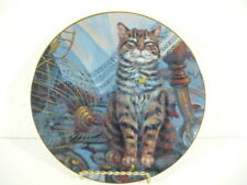 "Knowles Cat in Flew The Coop by Lowell Davis 8-1/2"" plate"