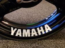 4x YAMAHA STICKERS YZF R1 R6 MT FJR FZ FJ FZ6 R1M Wheel Sticker RIM STICKER LARG