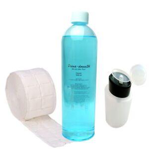 500 Zelletten Pumpflasche 1000ml Cleaner Blau ohne Duftstoffe und Öle