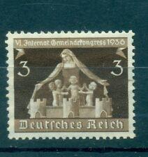 GERMANIA - GERMANY DEUTSCHES REICH 1936 Berlin & Munich Congress Mi. 617