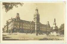 1940s Quebec City Canada Provincial Parliament Building Real Photo