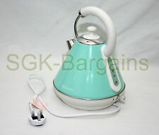 2200w 1.8L Electric Cordless Kettle Fast Boil Washable Filter Jug Seafoam Green