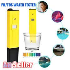 Portable PH Hydroponics Water Tester Pen Meter Aquarium Pool Digital TestKit