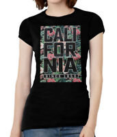 Womens Cali Floral Short-Sleeve T-Shirt