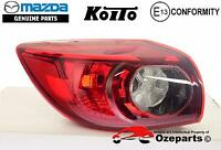 GENUINE Mazda 3 BM Hatch 2013~2016 LH Left Hand Tail Light Lamp (No LED)
