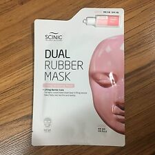 1SHEET SCINIC DUAL RUBBER MASK PACK - LIFTING WRAPPING MASK