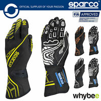 New! 001311 Sparco Lap RG-5 Race Motorsport Gloves Hand Protection FIA Approved