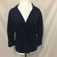 Rockmans Navy Jacket Beautiful Details Size 18 Womens