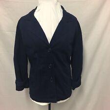 Rockmans. Navy Women's Jacket. Size 18. Excellent Condition. Beautiful Details