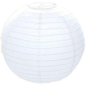 "40 cm White Paper Lampshade Ceiling Light Pendant Lamp Shade Ball Lantern 16"""