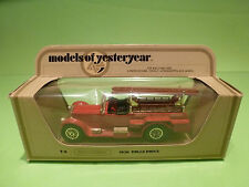 YESTERYEAR  1:43  MATCHBOX -  ROLLS ROYCE 1920  Y-6  - GOOD CONDITION IN BOX