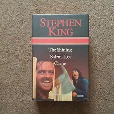 STEPHEN KING OMNIBUS ~ THE SHINING, SALEM'S LOT, CARRIE ~ BCA Ed