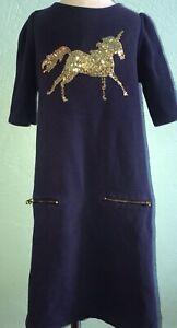Gymboree Sequin Unicorn Dress Gap 10 EUC Boden