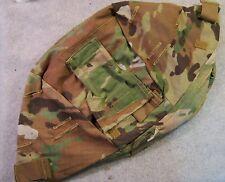 ACH MICH ARMY COMBAT HELMET COVER MULTICAM LG EX LARGE NVG FLAP W/O IR FLAP
