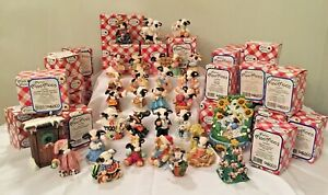 Mary's Moo Moos 1980-1990's Enesco Collectible COWS ~ YOUR CHOICE ~ w/Orig Box