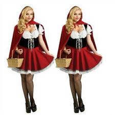 Women Sexy Red Riding Hood Costume Halloween Christmas Cosplay Fancy Dress S-6XL