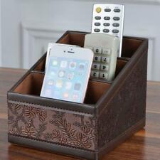 Remote Control Phone Storage Box Home Desk Organizer Makeup Holder Case Stand