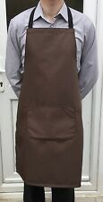 Wholesale Job Lot 25 Brand New Bib Aprons With Pocket Cafe Work Cater Chef