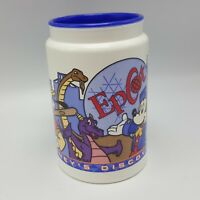 Disney Whirley Cup Discovery Park Epcot Figment Aladdin Mickey Mug Plastic Coke
