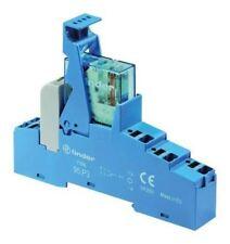 Finder 48 Series[Blank] 12V dc DIN Rail Interface Relay Module, DPDT-2C/0, Push