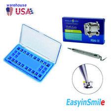 Dental Self Ligating Orthodontic Metal Bracket Mbt 3 With Hook 022 Open Tools