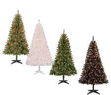 Pre-Lit 6.5' Madison Pine Artificial Christmas Tree - Multiple colors and lights