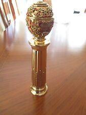 Faberge Egg Peter The Great Salt or Pepper Grinder Easter Egg