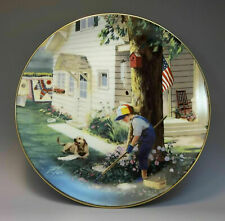 Danbury Mint Country Companions Zolan Collector Plate Tender Loving Care E3