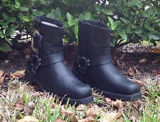 Men's Fuda Motorcycle Boots Black 3612 Size 9
