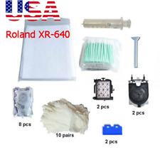 USA! Roland XR-640 Maintenance Kit Printer Necessary Parts
