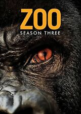 ZOO 3 (2017):  TV Season Series based on novel by James Patterson -  NEW DVD R1