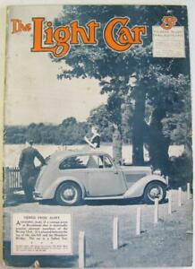 The Light Car 18 Sep 1936 Motoring Magazine Standard Flying 9 Rapier Blown tests